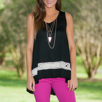 Lattice Adore Me Tank, Black