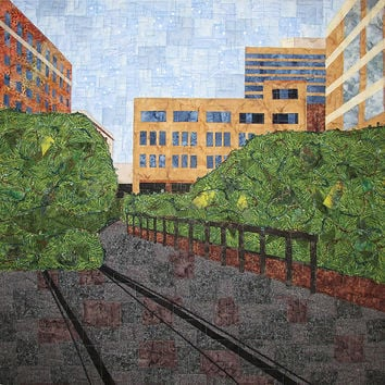 Art Quilt High Line in New York City