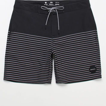 "RVCA Curren Striped 18"" Swim Trunks at PacSun.com"