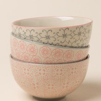 Cecile Ceramic Patterned Bowl