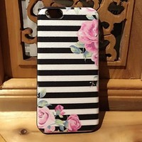 Retro Rose Case Cover for iphone 6 6s Plus Gift 216-170928