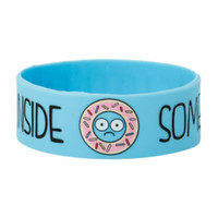 Sometimes I Feel Empty Inside Donut Rubber Bracelet