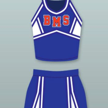 Blue Mountain State Cheerleader Uniform