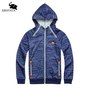 Men Hoodie Homes Mode Impression Double Side Zipper Hood Sweatshirts Men Slim Fit Hood Men Printed Raglan Sleeve Hoodies