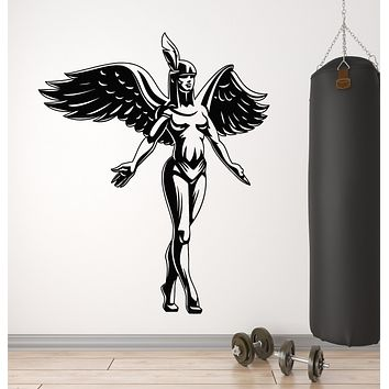 Vinyl Wall Decal Goddess Egyptian Gods Egypt Beauty Girl Gym Stickers Mural (g160)