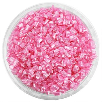 Pearly Pink Chunky Sugar