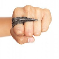Feather Ring - NASTY GAL