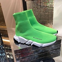 BALENCIAGA   Man popular Casual Shoes Men popular Boots popularable Casual leather Breathable Sneakers