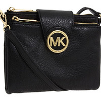 MICHAEL Michael Kors Fulton Large Crossbody Black - Zappos.com Free Shipping BOTH Ways