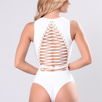 Zipline Swimsuit - White