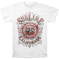Sublime Men's  California T-shirt White