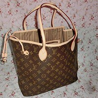 Louis Vuitton Neverfull Monogram MM Tote Bag - Authentic Brand New (M40156)