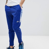 Nike Tribute Joggers In Slim Fit In Blue 861652-455 at asos.com