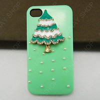 NEW iphone 5 case Christmas tree case iPhone cover iphone 4 case HTC case phone cover