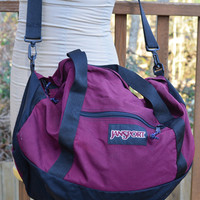 Vintage Jansport Duffle Sports Bag