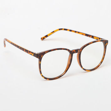 LA Hearts Oversized Tortoise Shell Readers at PacSun.com