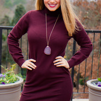 Bundled Up Sweater Dress - Final Sale