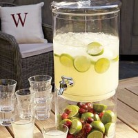 Food and Drink / Glass Beverage Dispenser | Williams-Sonoma