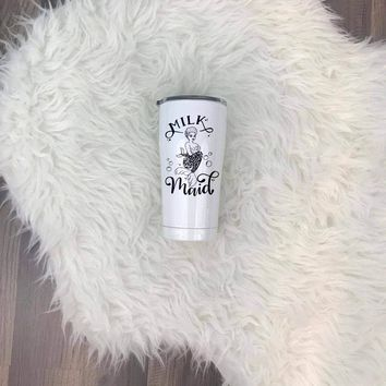 Milk Maid™ Afro-American UV Printed SIC (Seriously Ice Cold) Tumbler