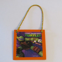 Teenage Mutant Ninja Turtles Donatello Door Knob Hanger - Boys Room Decor - Christmas Ornament - TMNT
