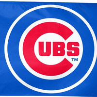 Chicago Cubs 3-by-5 foot Team Logo Flag, free shipping