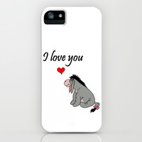 eeyore heart iPhone & iPod Case by BlackBlizzard