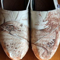 Lord of the Rings/ Hobbit Custom Shoes