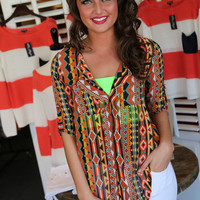 Santa Fe Girl {Orange Multi}
