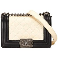 Chanel Black Medium Boy Flap Bag