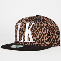 Last Kings Cat City Mens Strapback Hat Cheetah One Size For Men 23075243601