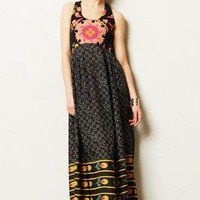 Nanda Maxi Dress by Anupamaa Black Motif