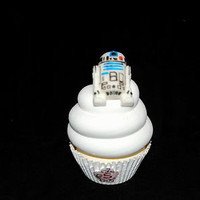R2D2 Star Wars Cupcake Cake Toppers