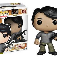 Funko Pop TV: The Walking Dead - Prison Glenn Rhee Vinyl Figure