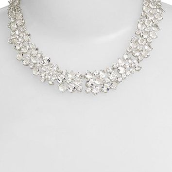 kate spade new york crystal collar necklace   Nordstrom