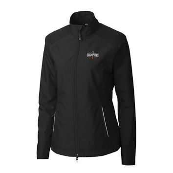 San Francisco Giants Cutter & Buck Women's 2014 World Series Champions Beacon Full Zip Jacket - Black