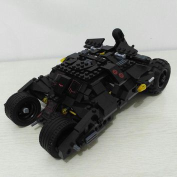 Comics Super Heroes Batman srs The Tumbler car model Building Blocks classic Compatible Lego