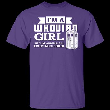 Whovian Girl T-Shirt