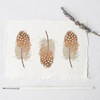 Feather Printable Wall Art Feather Wall Prints Feather Art Mustard Art Inspirational Print Home Decor Landscape Print INSTANT DOWNLOAD PRINT
