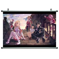 Sword Art Online 21x14 Anime ArtPrint Scroll Poster 016C
