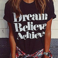 Cupshe Cool Feeling Dreaming T-shirt