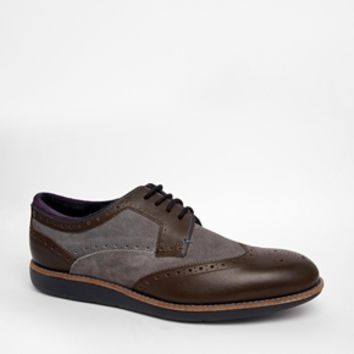 Ted Baker Brogue Shoes - Gray