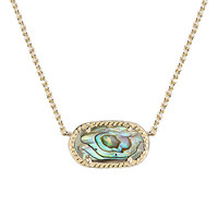 ELISA PENDANT NECKLACE IN ABALONE SHELL BY KENDRA SCOTT