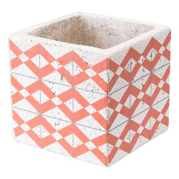 Cement Triangles Planter