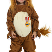 The Wizard of Oz Cowardly Lion Toddler Costume