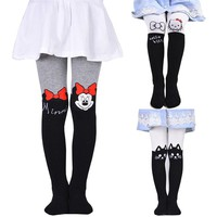 Cute Character Fashion Cotton Stockings