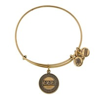 Alex and Ani Sigma Sigma Sigma Charm Bangle - Russian Gold