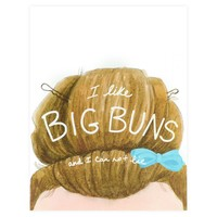 Big Buns Greeting Card