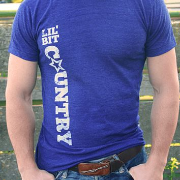 Lil' Bit Country | Men's T-Shirt