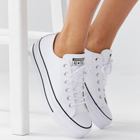 Converse Chuck Taylor All Star Lift Leather Sneaker | Urban Outfitters