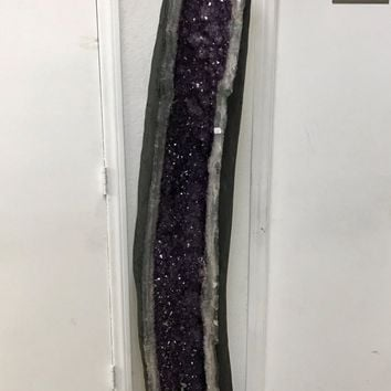 Amethyst Cathedral 6 Foot Tall- AAA Amethyst from Brazil- Home Decor   Druzy   Crystal   Reiki   Geod